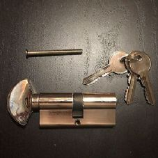 Static Caravan Eurolock door lock with turnbuckle, 3 keys, 35mm x 35mm